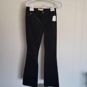 NWT Women Gap  Black Baby boot Pants 25 P